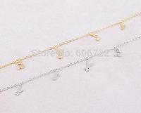 Wholesale Gold Silver Tiny Music Rabbit H Bracelets Bangles Animal Jewelry For Women