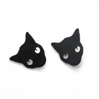 Black Panther Lion Leopard Brooch Collar Tips Men Jewelry CY025 coupon MXIUX