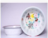 Enamel basin, 36 cm thickening double enamel basin, basin of disinfection