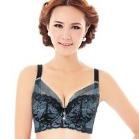 Spring lace padded push up underwear full cup plus size bra mm women's braCD 14121504