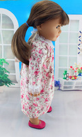 "Handmade Doll Clothes dress For 18"" American Girl accessories children present"