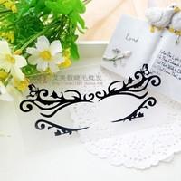 Fashion cutout False eyelash stickers black cute paper cutting eye stickers masquerade lk057 Free shipping