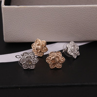 Fashion New Flowers Shape CC Stud Earrings for Women Free Shipping
