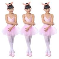 Fashion Elasticity Sleeveless Ballet Dress for Girls Gymnastics Leotard Ballet Tutu Skate Dance Party Dress Women Costume LD023
