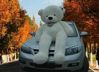 "Giant Huge 78""/ 200 cm White Teddy Bear Stuffed Plush Animal Toy / Free Shipping"
