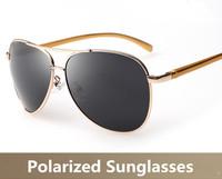Aviator Men Sunglasses Polarized Lens Driver Sun Glasses Male Brand Designer Reduce Glare Driving Fishing Outdoor Sports Eyewear