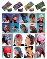 138Colors 1Pcs Outdoor Sports Cycling Bike Bicycle Riding Turban Magic Headband Veil Multi Head Scarf Scarves Face Mesh Bandanas