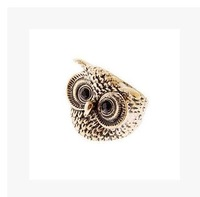 Hot sale high quality Wholesale Cute Retro owl ring
