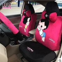 universal seat cover fit for most of 5seat  female seat  cover several design available winter cartoon lovers  car seat covers