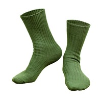 Free Shipping 6pieces=3pairs  Large size 26 - 28 cm men militory Outdoor 100% cotton US Army Boot Socks