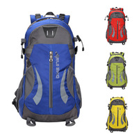 The new leisure travel bag large capacity mountaineering backpack computer backpack schoolbag men and women sports