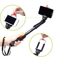 YT-1288 Selfie Monopod Extendable Handheld Pole w/ Shutter for iPhone