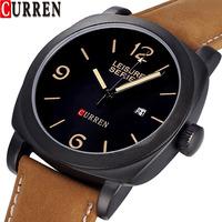Curren  men leather watch 1396