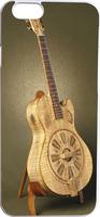 Wood Guitar Hard Unique Designer Slim case for apple iphone 6 4.7 inches