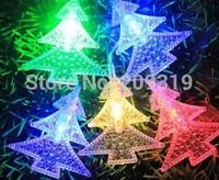 Christmas tree string lights  Christmas tree shape 25 meters