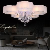 free shipping crystal modern ceiling lamp bedroom lamp lighting 220V led ceiling light