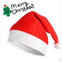 Free Shipping Christmas Hat Caps Santa Claus Father Xmas Cotton Cap Christmas Gift Retail christmas gift