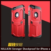 """NILLKIN Stronger than Stronger Series Overall Coverage TPU+PC Shockproof Case for Apple iPhone 6 4.7"""" +10 pcs/lot Free Shipping"""