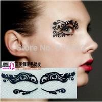 Fashion luxury cosmetic royal lace paper-cut eye stickers False eyelash lk013 Free shipping