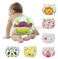 Free shiping 5pcs/lot waterproof Baby Training Pant underwear cotton learning/study infant urinate pants