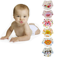 Baby Infant Cartoon Cloth Diapers Reusable Washable Leakproof Nappy Diaper