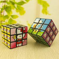5*5*5cm Mini Cartoon Puzzle Magic Cube Kids Children Educational Development Toy Gift
