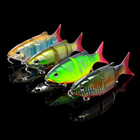 Free shipping Trulinoya Dw26 fish 110mm 27g hard bait fish fishing lure four section lure hot sales