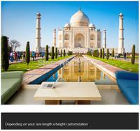 Free shipping custom 3D large living room bedroom hallway mural backdrop scenery wallpaper Taj Mahal