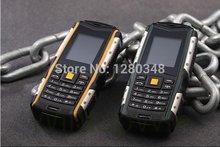 promo L6 rugged phone waterdrop rugged phone dustproof L6 Rugged phone camouflage ORANGE black