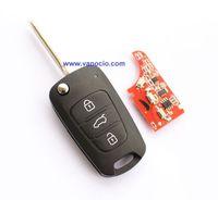 Kia K5 car folding remote key control 433mhz with ID46 chip