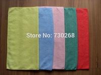 Free Ship 5 pcs 40X40cm 300gsm Microfiber Car Cleaning Towel Microfibre Detailing Cloth Hand Towel Wash Cloth Absorbent Towel