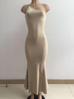 women dress  --4186 AliExpress Hot Autumn 2014 new sexy dress chest wrapped package hip dress women Slim beach- dresses