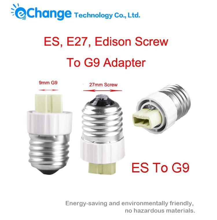 Edison Screw E27 To G9 Bulb Adapter Light Lamp Convertor Holder Socket Base 1 Pc EB3394(China (Mainland))