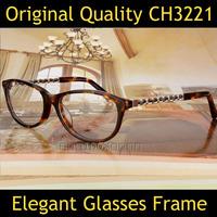 2014 Brand Designer Women Elegant Eyeglasses CH3221 Brand Eye Prescription Glasses Frame Nerd Glasses Frames Optical Glasses