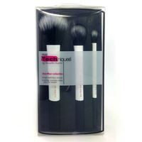 Professional Makeup Tools Real Techniques Make up Brushes Set/ Kit Core Collection 3 White Brushes