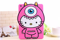 For Apple iPad Air case Monster Silicone Case Back Cover Popeyes hello kitty kt case 9.7 Tablet Soft PC Cover Case rubber cover