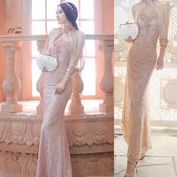 2014 news lace dress women dress evening maxi dress long dress