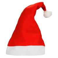 2014Free Shipping Christmas Hat Caps Santa Claus Father Xmas Cotton Cap Christmas Gift Retail christmas gift