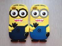 Despicable Me Rubber Luxury 3D Funny Minion Cute Cartoon Silicon e Soft Case For Xiaomi mi3 M3