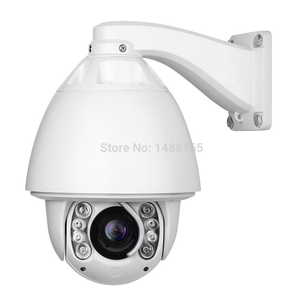 1080P auto tracking PTZ IP camera 20x zoom IR 150 m high speed dome outdoor ip camera support P2P ONVIF(China (Mainland))