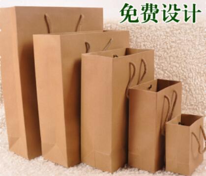 Customized clothing bag gift bags Kraft paper shopping bag, paper bag custom handbags(China (Mainland))