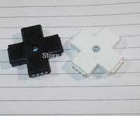 "500PCS LED Connectors rgb  4 Pin ""+ ""Shape Wireless Plug RGB Led Strip Connectors"