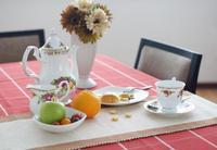 European Style High-grade Luxury Bone China Ceramic Tea And Coffee Set
