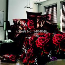 Em 2015 novo lençóis ropa de cama folha de cama edredon confortável 3D conjuntos de cama grátis frete conjunto de cama king size capa de edredão(China (Mainland))