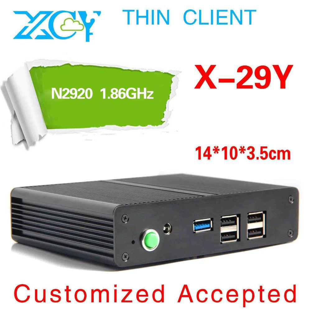 N2920 X-29Y mini computing barebone pc thin client Network: 1*RTL8111DL Onboard NIC Gigabit Lan, Wake-On-LAN Simplified computer(China (Mainland))