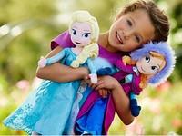 "Hot sale Frozen Elsa Anna Plush Doll 50cm 20"" Frozen Doll Plush Toys bonecas frozen princesa elsa e anna for Girl"