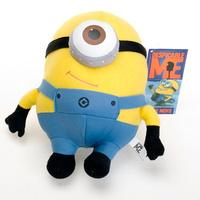 "1pc Despicable ME Movie Plush Toy 7 inch "" minion 18 cm 3D eyes minion plush bonecos minions stuffed toys"