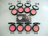 Free DHL/EMS wholesale (48pcs/lot) NEW ARRIVE profession brand mc makeup powder blusher