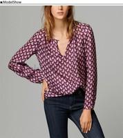 Promotion Loose Tops Long Sleeve Plus Size Shirt Women Blouses Blusas Femininas Vintage Casual Ladies O-Neck Cardigan B16