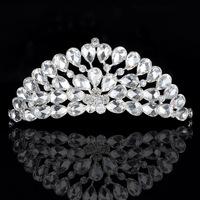 Rhinestone accessories The bride accessories hair accessory costume wedding dress formal dress crown 06